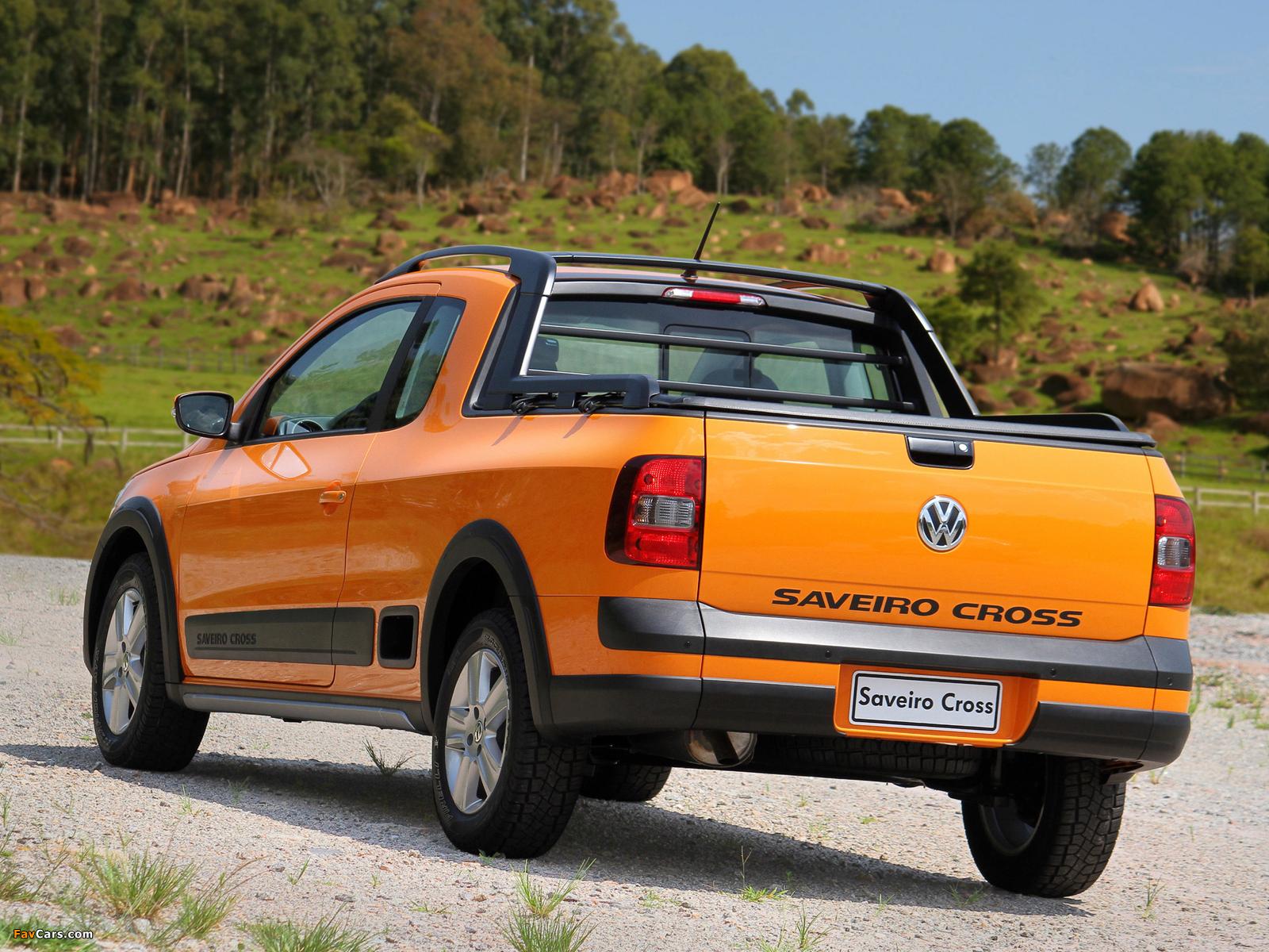 Volkswagen Saveiro Cross (V) 2010 images (1600 x 1200)
