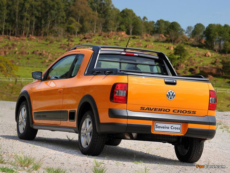 Volkswagen Saveiro Cross (V) 2010 images (800 x 600)