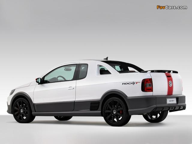 Volkswagen Saveiro Rocket Concept 2010 wallpapers (640 x 480)