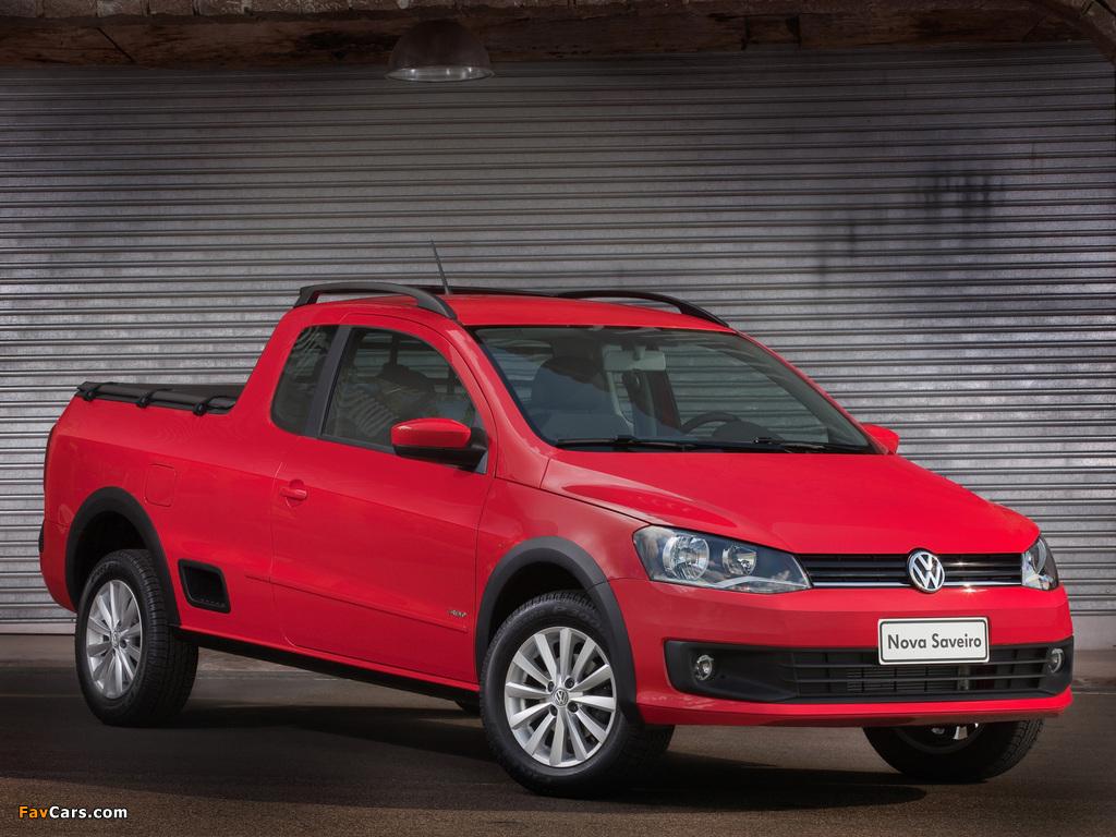 Volkswagen Saveiro Trend CE (V) 2013 images (1024 x 768)