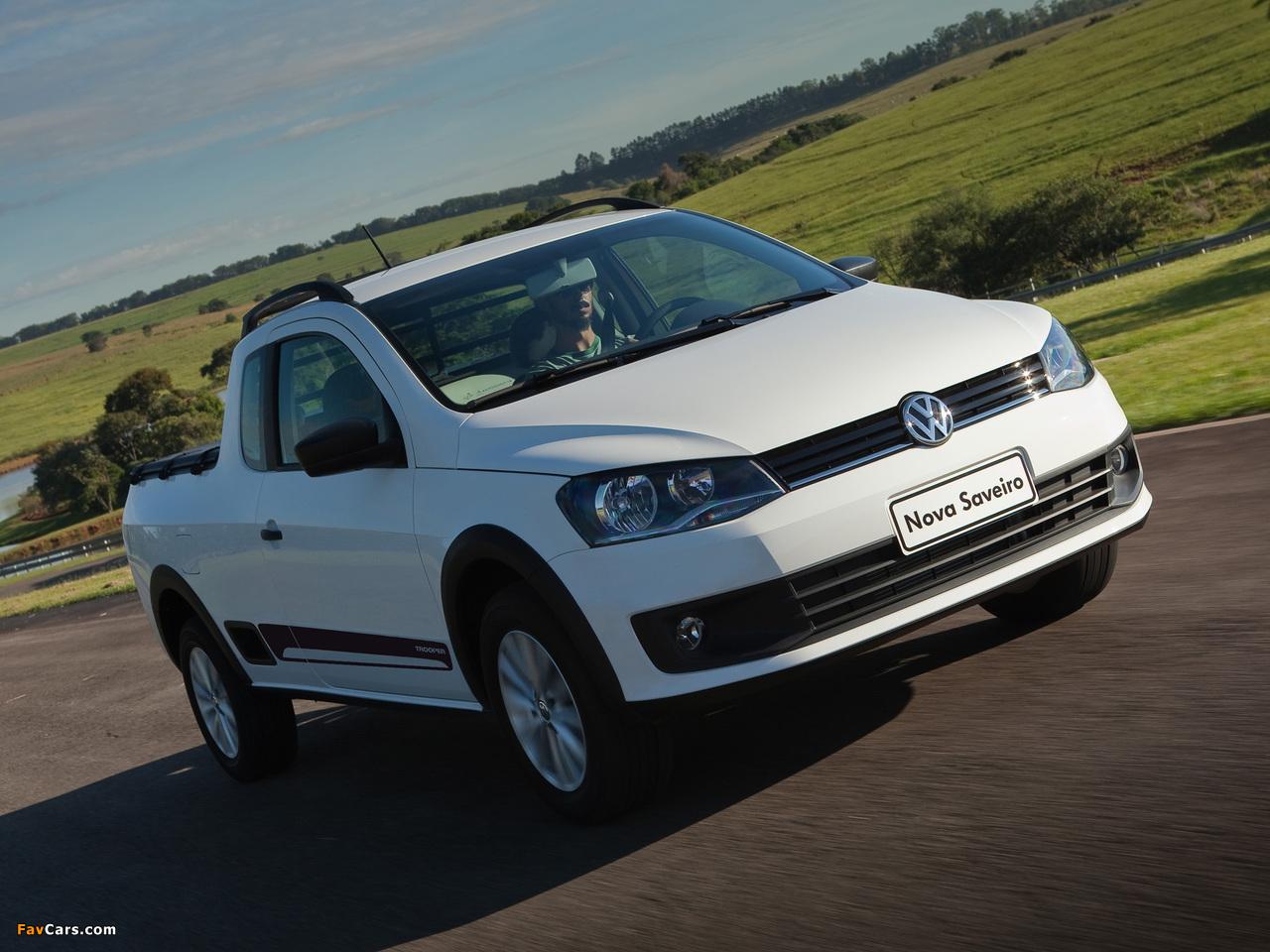 Volkswagen Saveiro Trooper 2013 photos (1280 x 960)