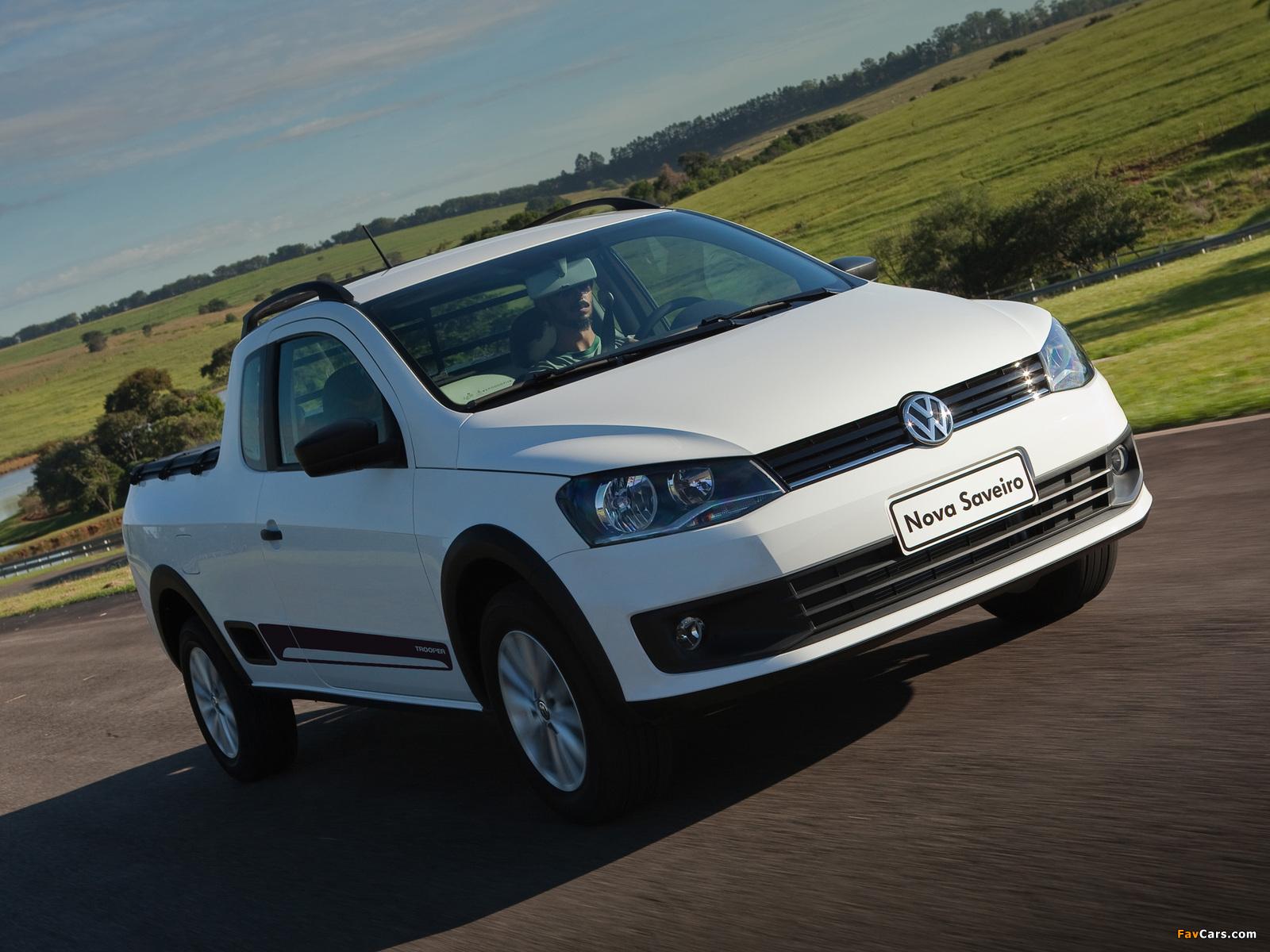Volkswagen Saveiro Trooper 2013 photos (1600 x 1200)
