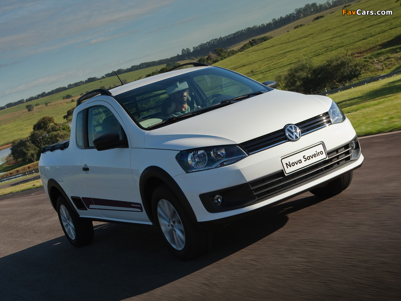 Volkswagen Saveiro Trooper 2013 photos (800 x 600)