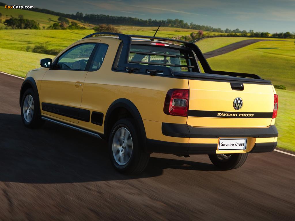 Volkswagen Saveiro Cross (V) 2013 photos (1024 x 768)