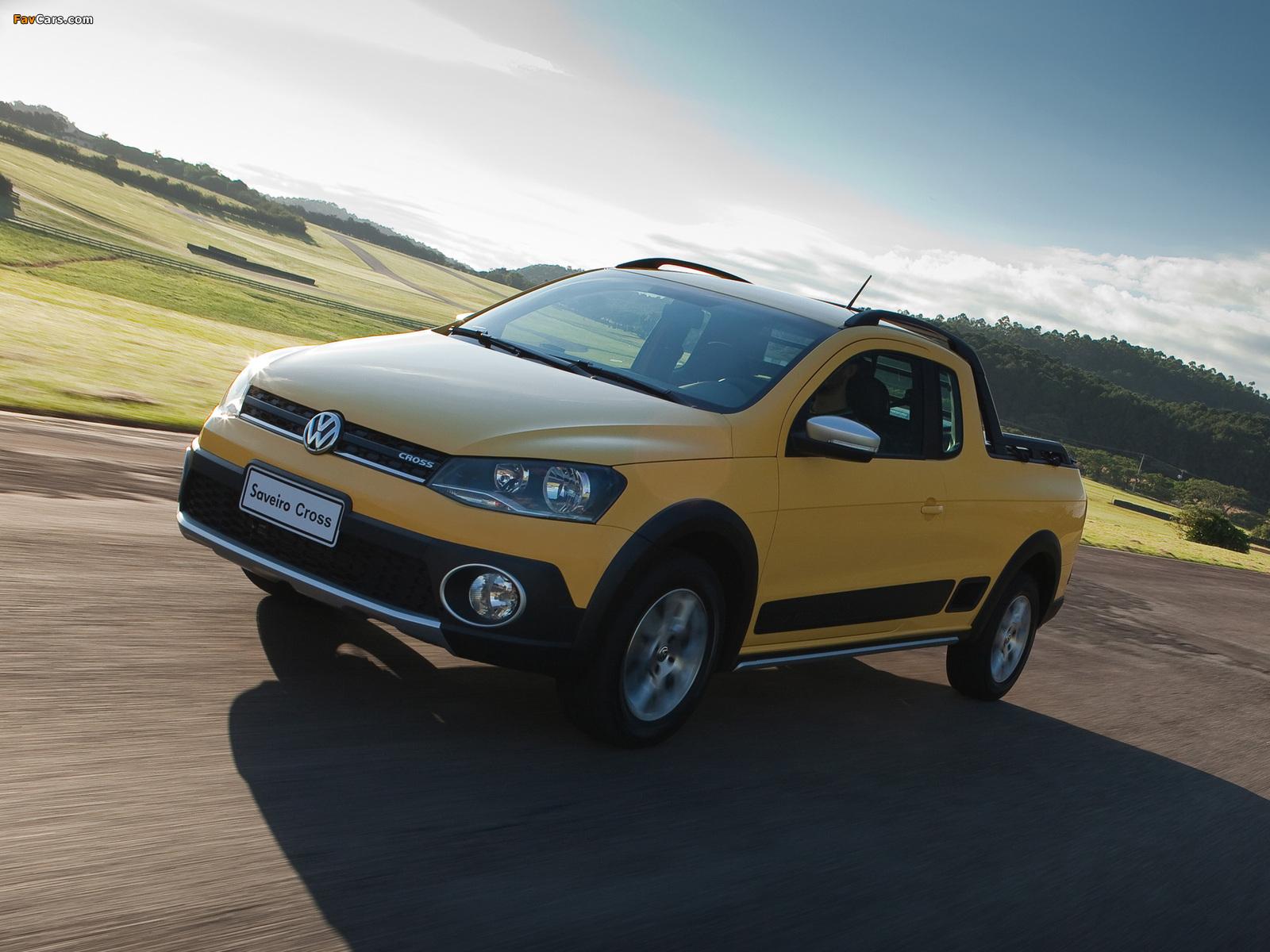 Volkswagen Saveiro Cross (V) 2013 photos (1600 x 1200)