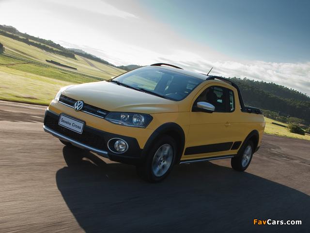 Volkswagen Saveiro Cross (V) 2013 photos (640 x 480)