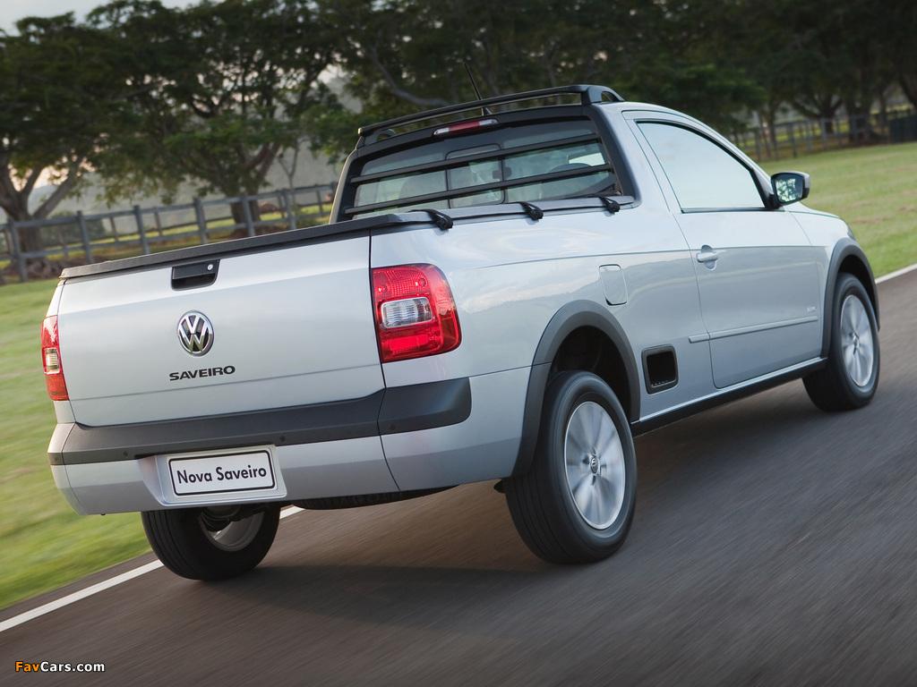 Volkswagen Saveiro Trend CS (V) 2013 photos (1024 x 768)