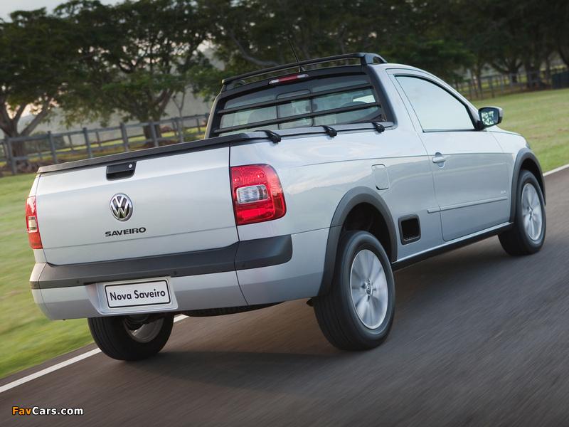 Volkswagen Saveiro Trend CS (V) 2013 photos (800 x 600)
