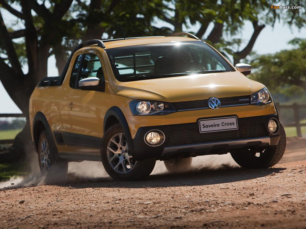 Volkswagen Saveiro Cross (V) 2013 pictures (1024 x 768)