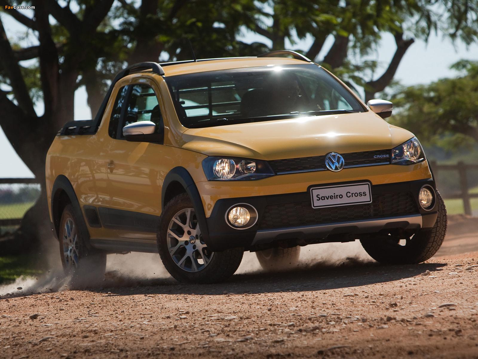 Volkswagen Saveiro Cross (V) 2013 pictures (1600 x 1200)