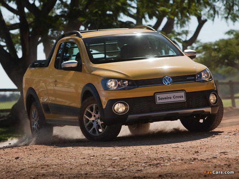 Volkswagen Saveiro Cross (V) 2013 pictures (800 x 600)