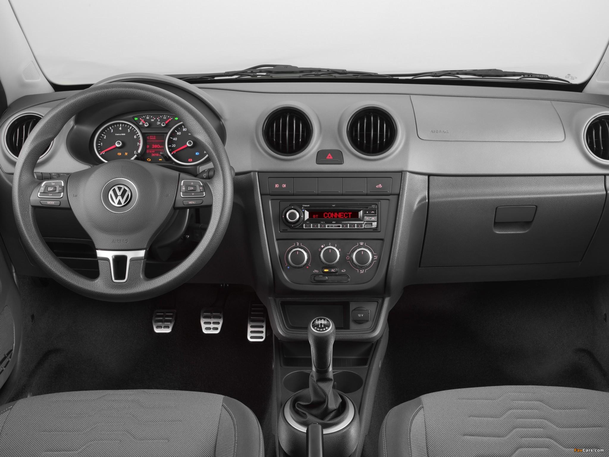 Volkswagen Saveiro Cross (V) 2010 wallpapers (2048 x 1536)