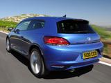 Images of Volkswagen Scirocco UK-spec 2008