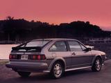 Pictures of Volkswagen Scirocco 16V US-spec 1982–88