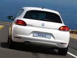 Pictures of Volkswagen Scirocco ZA-spec 2008