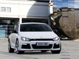 Pictures of Volkswagen Scirocco R UK-spec 2009