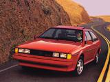 Volkswagen Scirocco 16V US-spec 1982–88 photos
