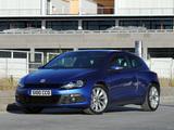 Volkswagen Scirocco UK-spec 2008 pictures