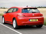 Volkswagen Scirocco UK-spec 2008 wallpapers