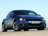 Volkswagen Scirocco UK-spec 2008 wallpapers