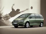 Images of Volkswagen Sharan 2004–10
