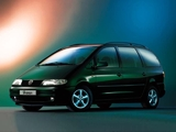 Photos of Volkswagen Sharan 1995–2000