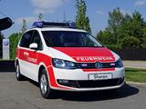 Pictures of Volkswagen Sharan Feuerwehr 2010