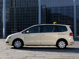 Volkswagen Sharan Taxi 2010 images
