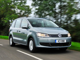 Volkswagen Sharan UK-spec 2010 pictures