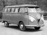 Images of Volkswagen T1 Deluxe Samba Bus 1951–63