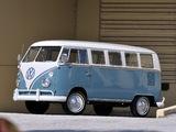 Images of Volkswagen T1 Deluxe Bus 1963–67