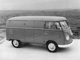 Photos of Volkswagen T1 Van 1950–67