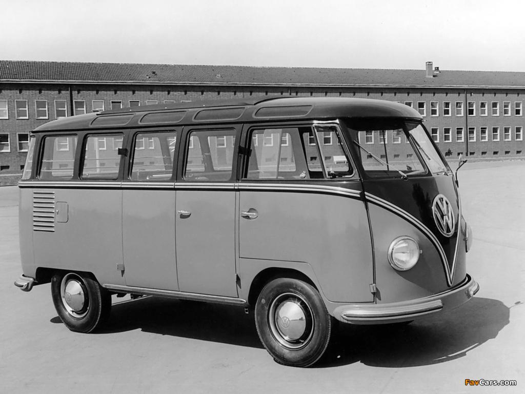 Photos of Volkswagen T1 Deluxe Samba Bus 1951–63 (1024 x 768)