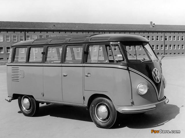 Photos of Volkswagen T1 Deluxe Samba Bus 1951–63 (640 x 480)
