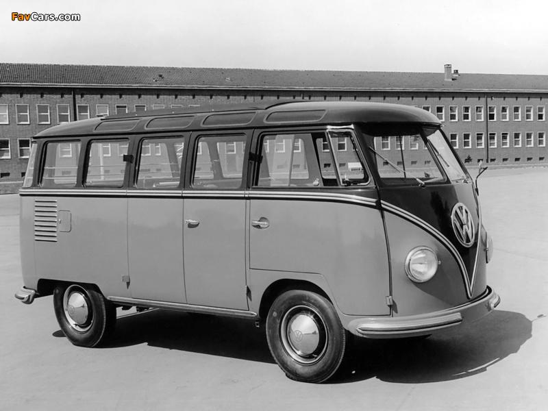 Photos of Volkswagen T1 Deluxe Samba Bus 1951–63 (800 x 600)