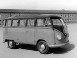 Photos of Volkswagen T1 Deluxe Samba Bus 1951–63