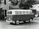 Photos of Volkswagen T1 Deluxe Bus 1963–67