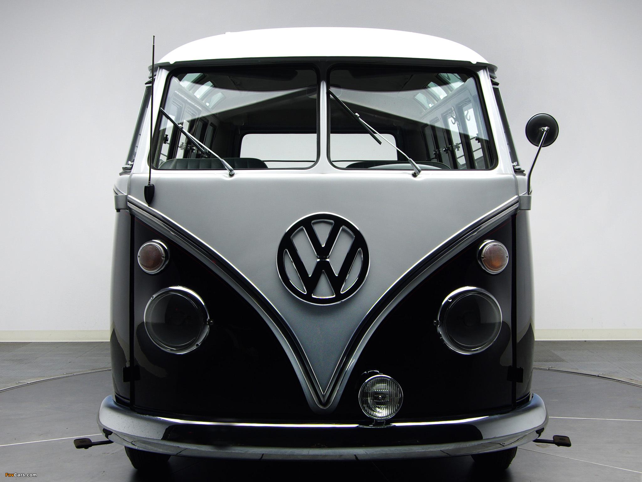 Pictures Of Volkswagen T1 Deluxe Samba Bus 1963 67 2048x1536