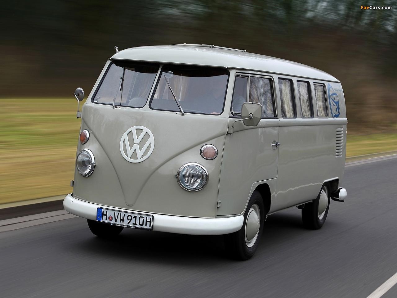 Volkswagen T1 Kombi 1950 67 Images 1280x960