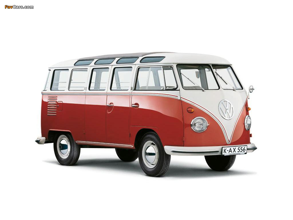 Volkswagen T1 Deluxe Samba Bus 1951–63 images (1024 x 768)