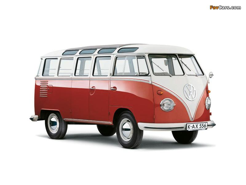 Volkswagen T1 Deluxe Samba Bus 1951–63 images (800 x 600)