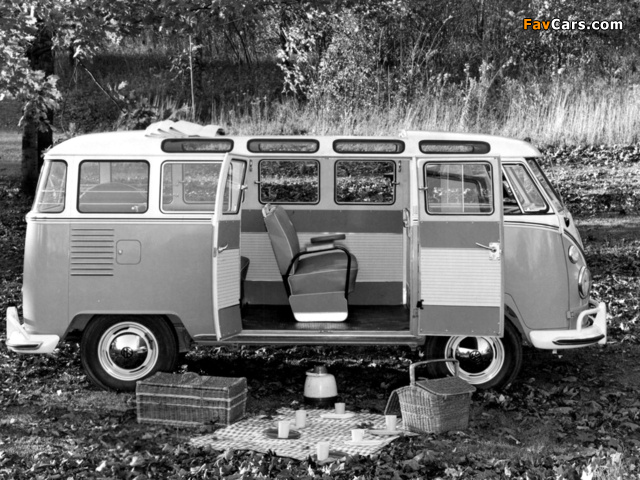 Volkswagen T1 Deluxe Samba Bus 1951–63 images (640 x 480)