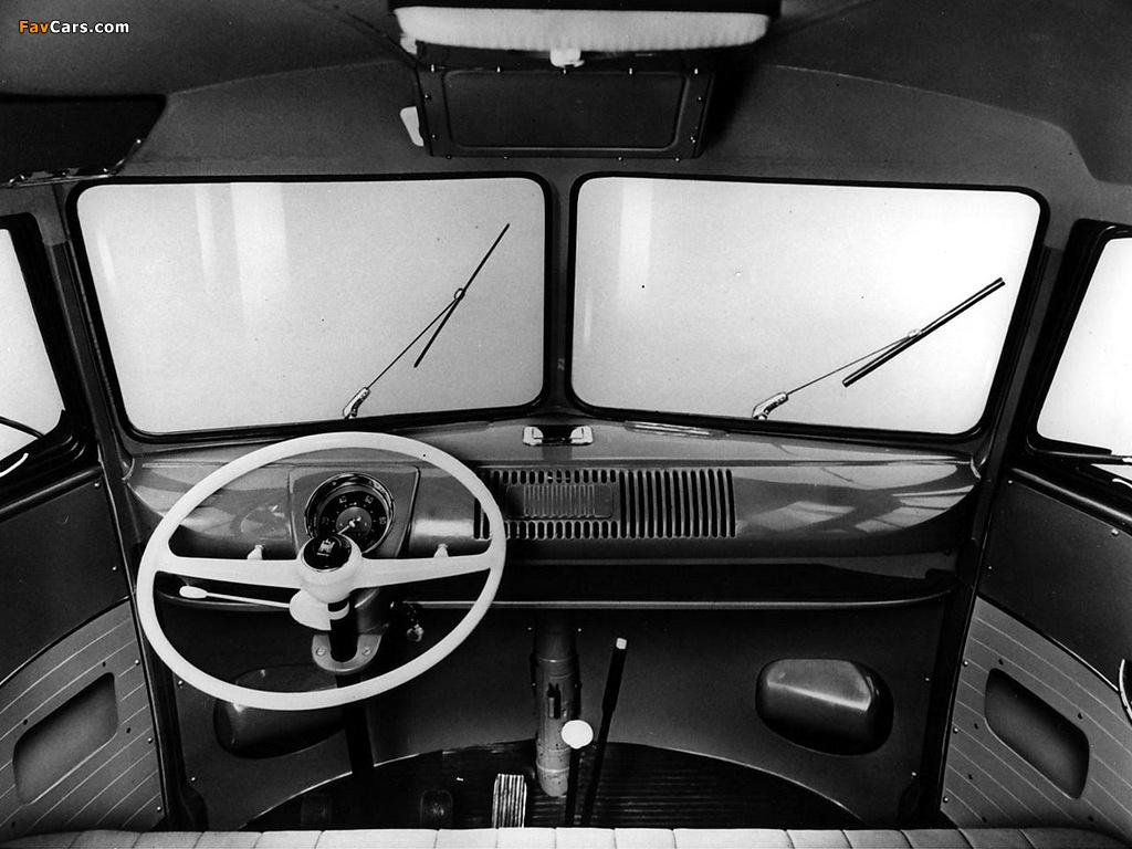 Volkswagen T1 Deluxe Samba Bus 1951–63 photos (1024 x 768)
