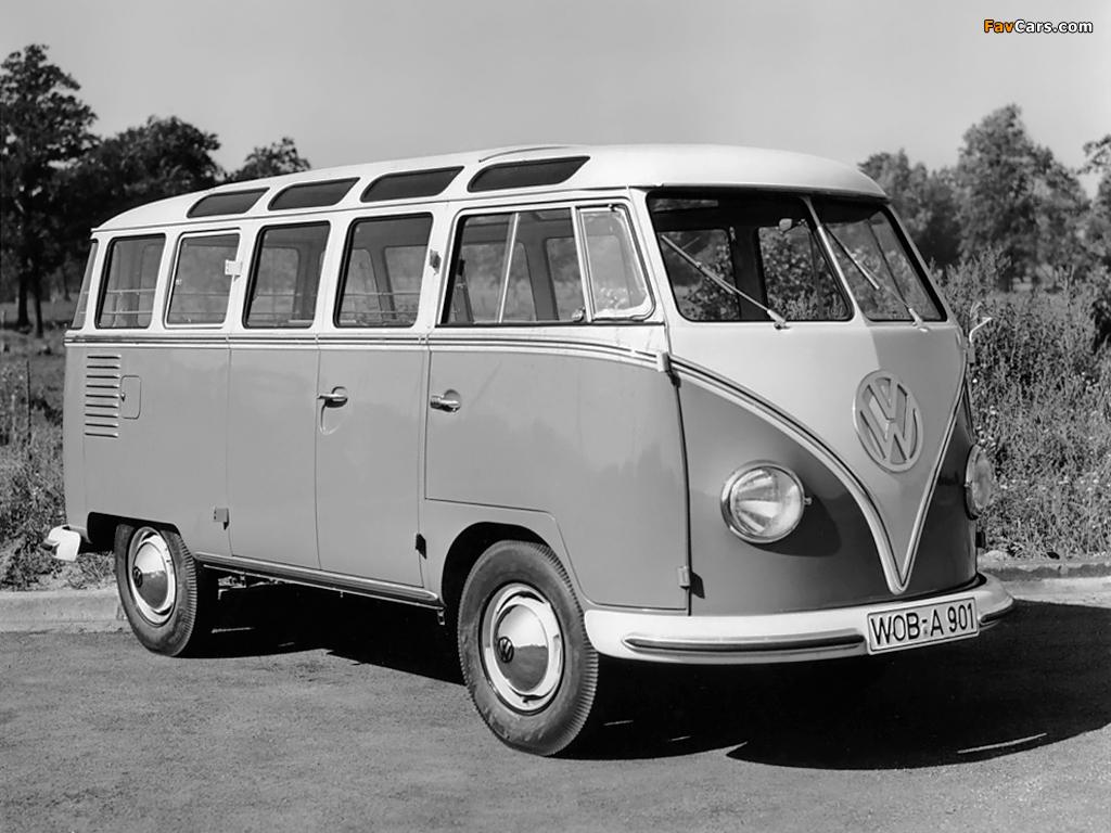 Volkswagen T1 Deluxe Samba Bus 1951–63 pictures (1024 x 768)