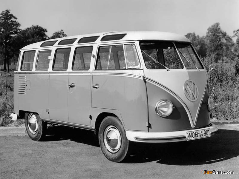 Volkswagen T1 Deluxe Samba Bus 1951–63 pictures (800 x 600)