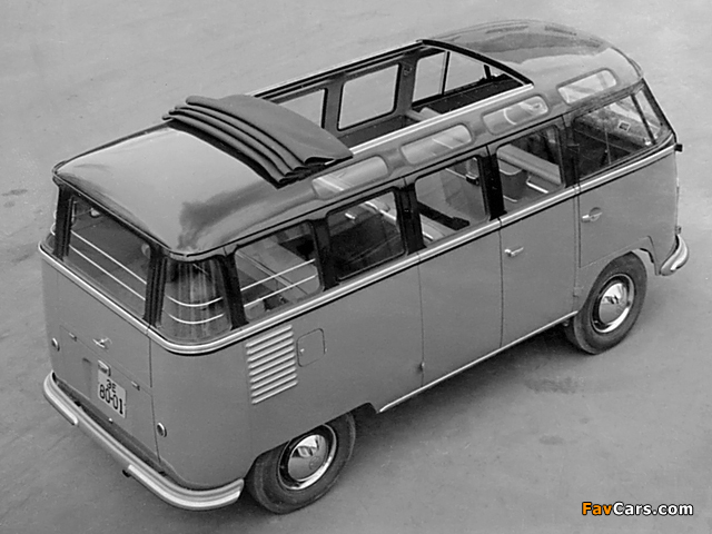 Volkswagen T1 Deluxe Samba Bus 1951–63 pictures (640 x 480)