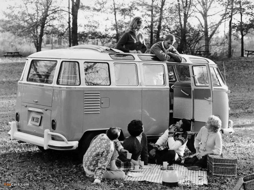 Volkswagen T1 Deluxe Samba Bus 1951–63 wallpapers (1024 x 768)