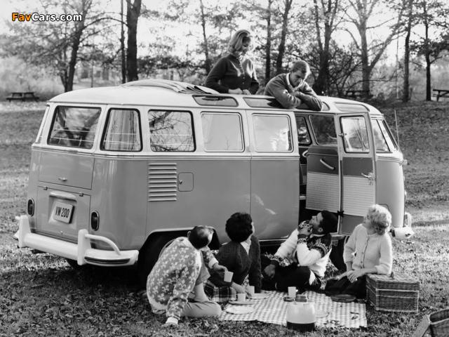Volkswagen T1 Deluxe Samba Bus 1951–63 wallpapers (640 x 480)
