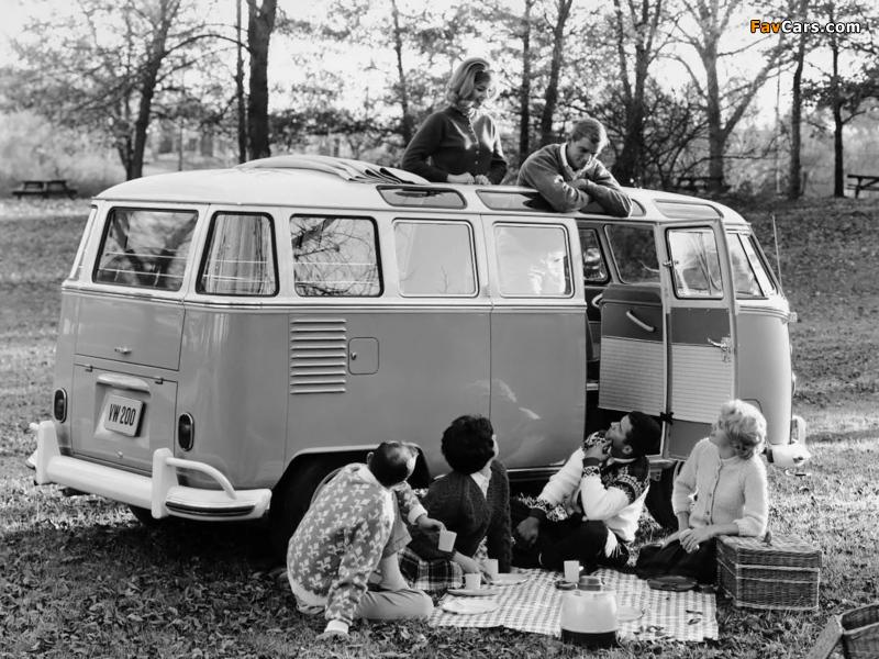 Volkswagen T1 Deluxe Samba Bus 1951–63 wallpapers (800 x 600)