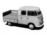 Volkswagen T1 Double Cab Pickup 1958–67 images